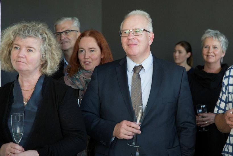 Ingunn Guðrún Árnadóttir, Hekla Arnardóttir og Stefán Pétursson.