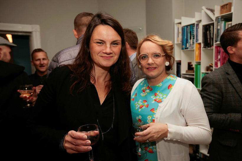 Guðrún Ragna Garðarsdóttir og Thelma Jónsdóttir.