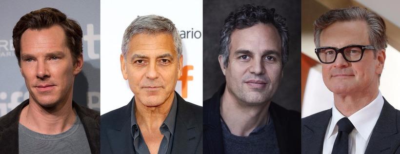 Benedict Cumberbatch, George Clooney, Mark Ruffalo og Colin Firth hafa ...