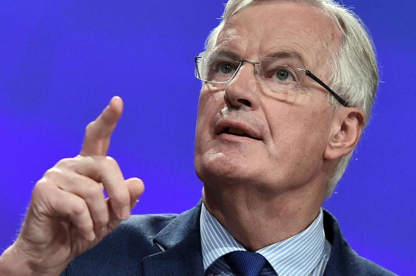 Michel Barnier segir áhyggjuefni hversu lítið hefur þokast í viðræðum ...