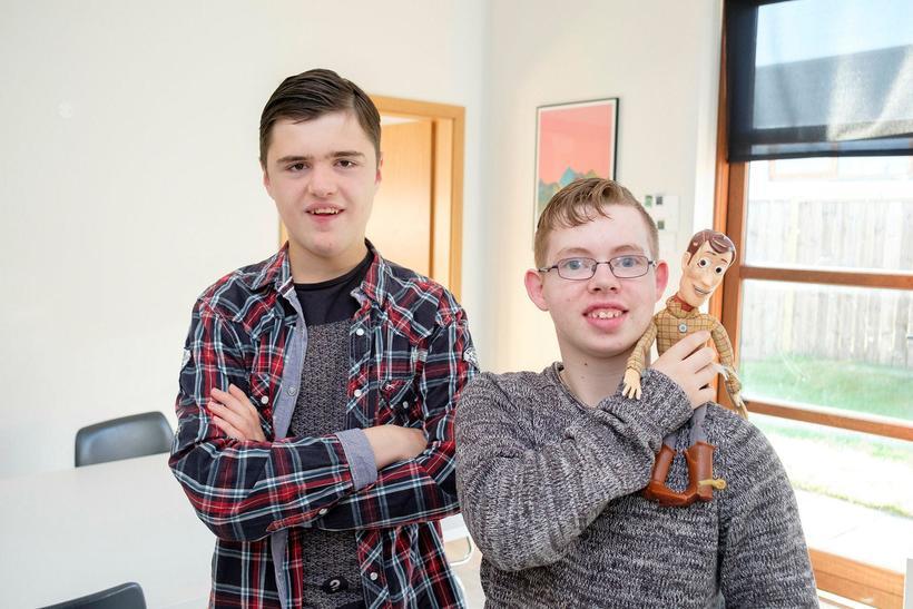Óskar Gíslason og Björn Gústavsson.