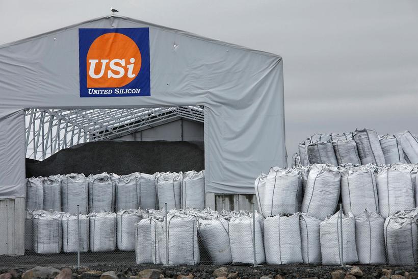 Eftir að verksmiðja United silicon í Helguvík var gangsett kom ...