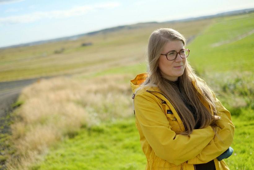 Anna Sigríður Valdimarsdóttir náttúrufræðingur rannsakaði lífríki Viðeyjar á sínum tíma. ...