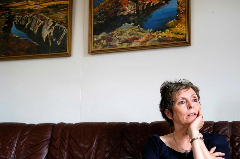Eva Sigurbjörnsdóttir, oddviti Árneshrepps. Eva segi sveitastjórnina ekki vita hvenær …