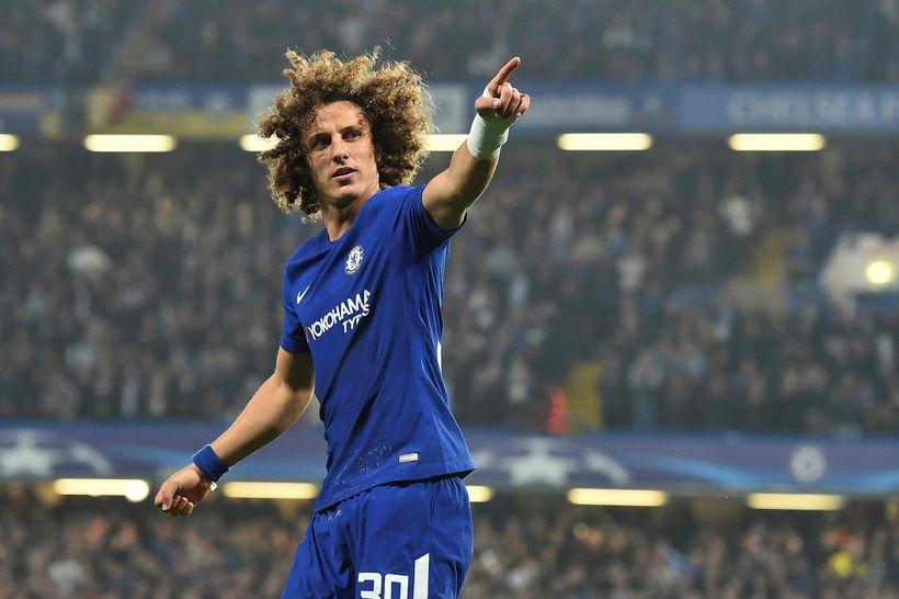 David Luiz er orðaður við Arsenal í dag.