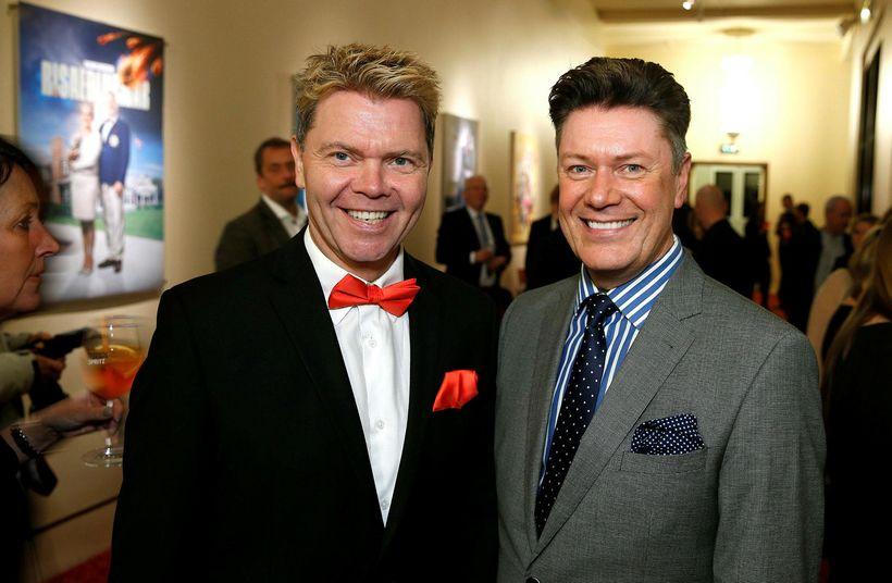 Albert Eiríksson og Bergþór Pálsson.