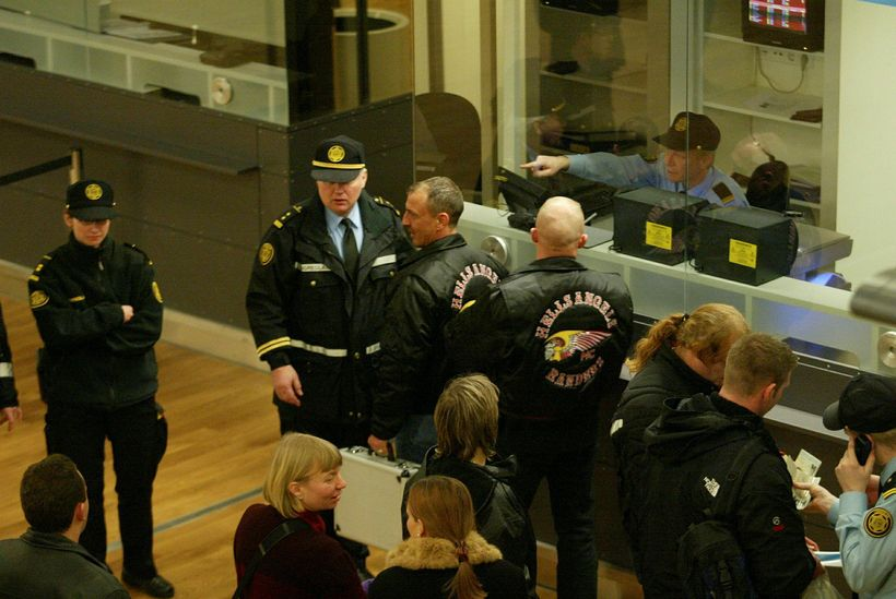 Hells Angels arrested at KEF airport and denied entry into ...
