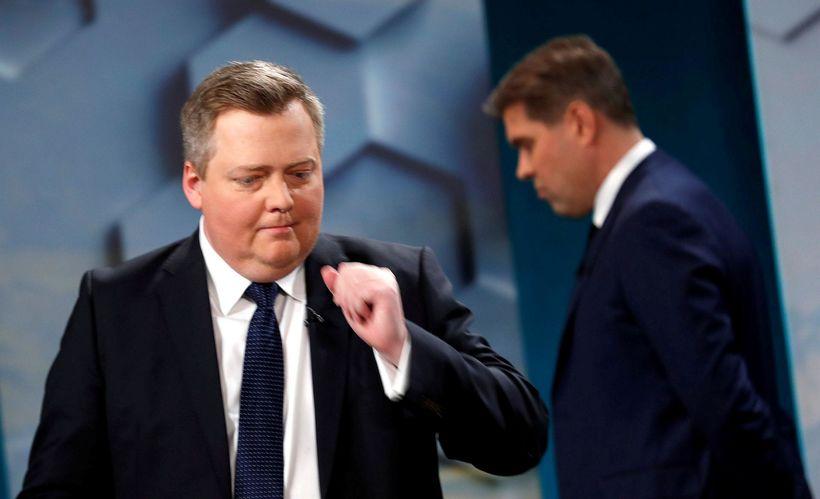 Former Prime Minister Sigmundur Davíð Gunnlaugsson has made a comeback ...