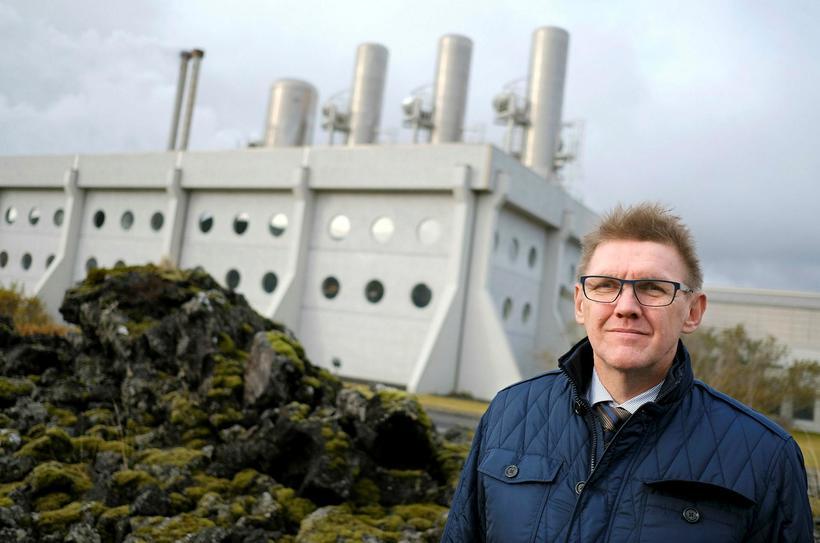 Ásgeir Margeirsson, fráfarandi forstjóri HS Orku.