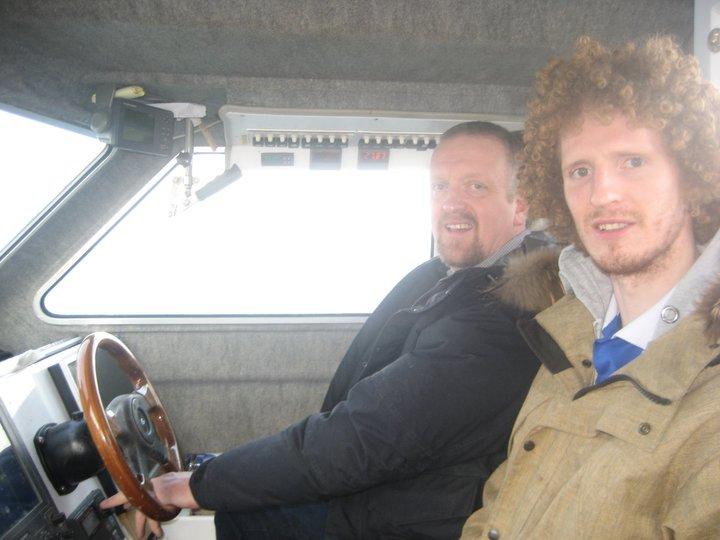 Sigurður Páll og Bragi Páll.
