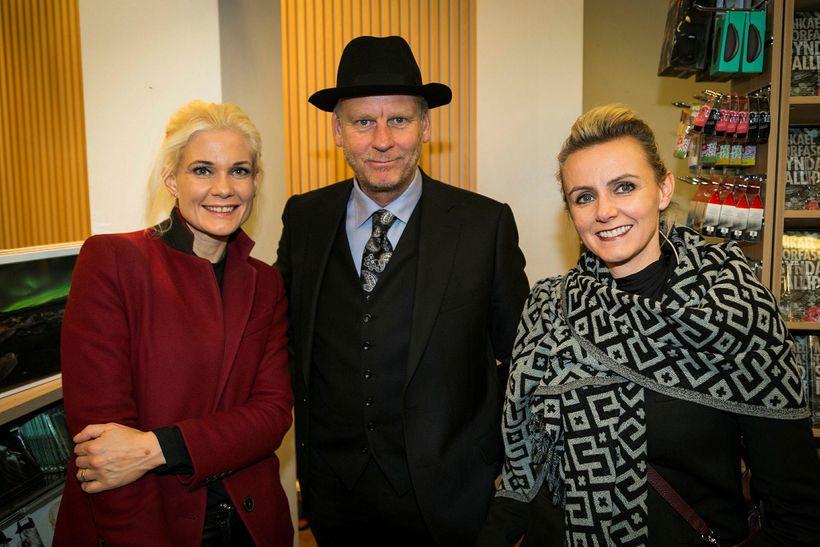 Karen Kjartansdóttir, Sigmundur Ernir Rúnarsson og Gunnhildur Arna Gunnarsdóttir.