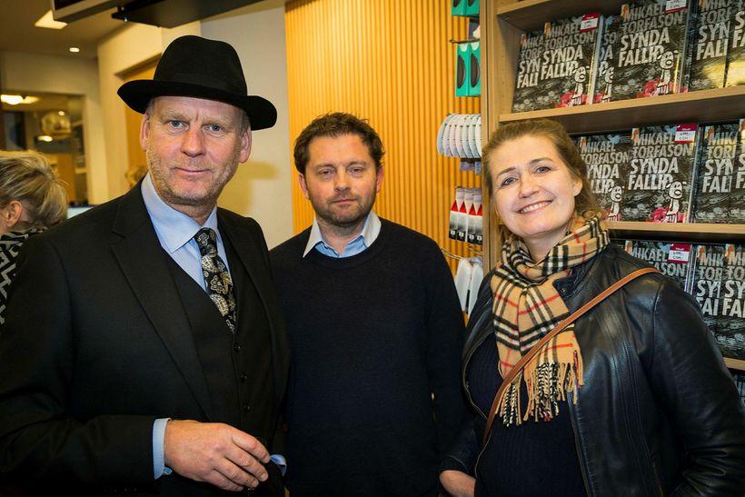 Sigmundur Ernir Rúnarsson, Tómas Hermansson og Anna Margrét Marinósdóttir.