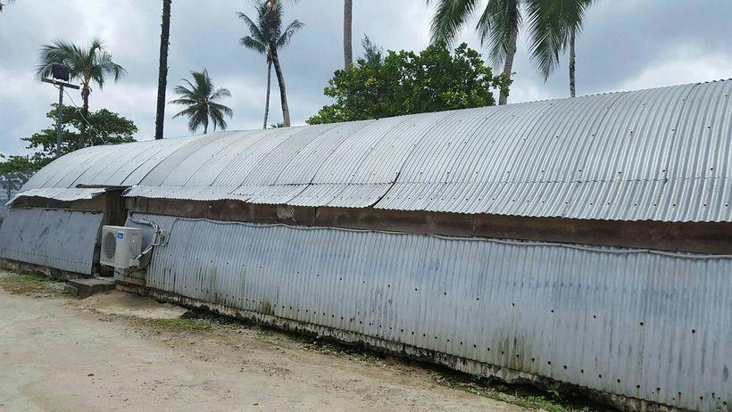 Behrouz Boochani tók þessa mynd frá búðunum á Manus-eyju.