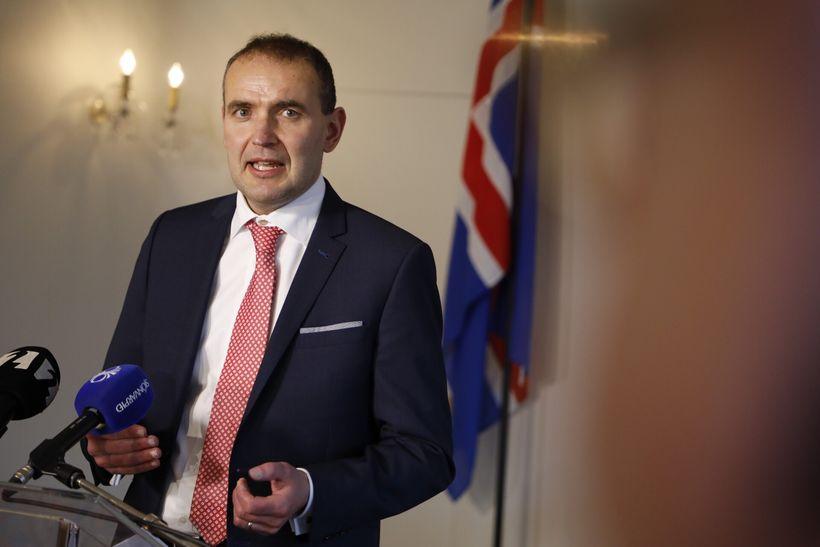 Guðni Th. Jóhannesson, forseti Íslands, á Bessastöðum.