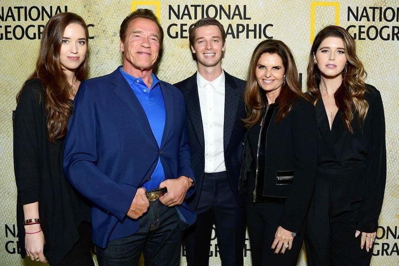 Christina Schwarzenegger, Arnold Schwarzenegger, Patrick Schwarzenegger, Maria Shriver og Katherine …