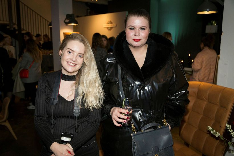 Aníta Eldjárn og Gerður Guðrún Árnadóttir.