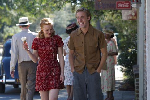 Rachel McAdams og Ryan Gosling léku saman í The Notebook.
