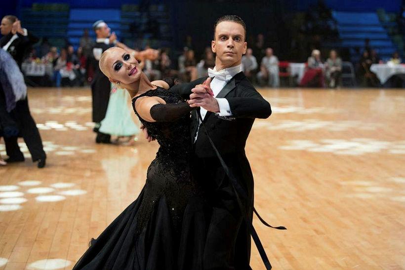 Sara Rós og Nicolo hafa verið danspar síðustu þrjú ár.