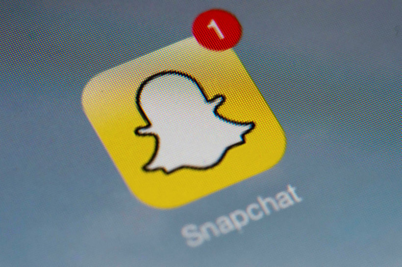Snapchat hefur notið vinsælda meðal ungra krakka.