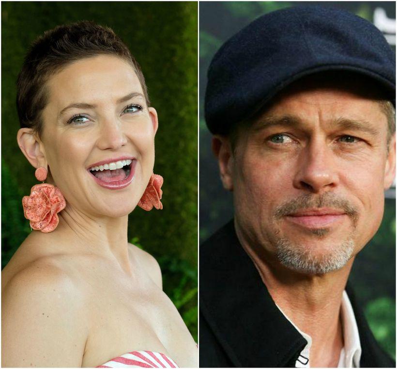 Kate Hudson segist ekki hafa hitt Brad Pitt í fjögur ...