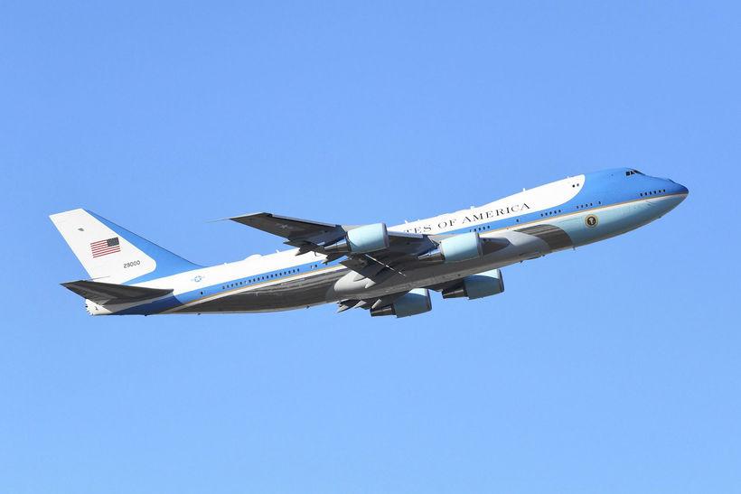 Flugvél forseta Bandaríkjanna, Donald Trump.