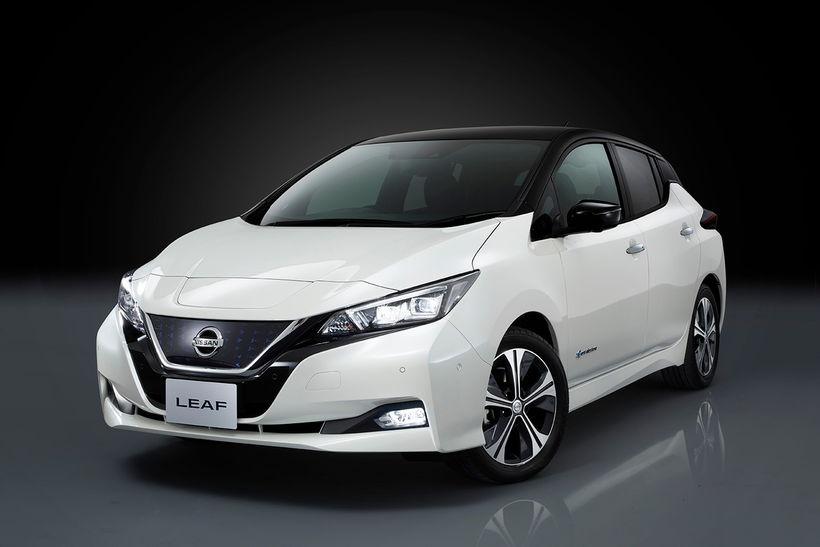 Nissan Leaf hinn nýi.
