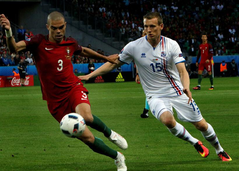 Pepe er sá besti sem Jón Daði Böðvarsson hefur mætt.