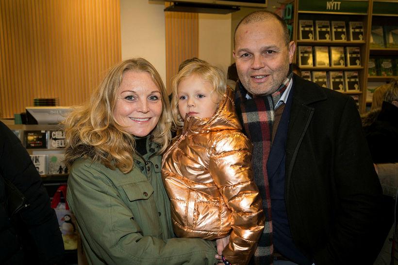 Tinna Ólafsdóttir, Fanney Petra Karlsdóttir og Karl Pétur Jónsson.