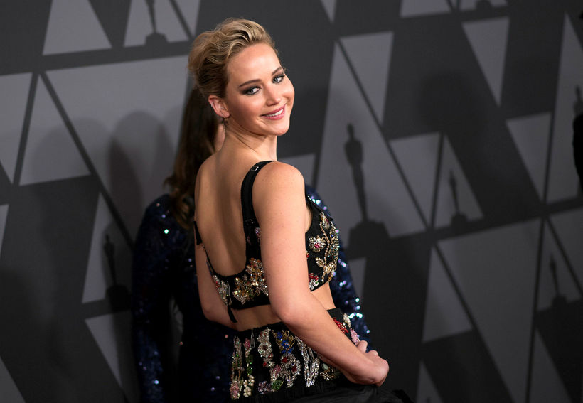 Actress Jennifer Lawrence attends the 2017 Governors Awards, on November ...
