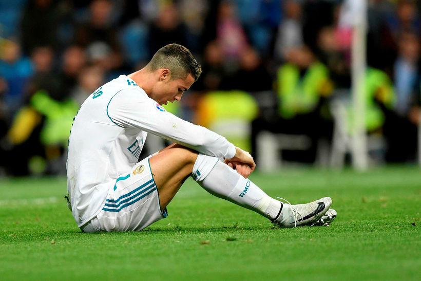 Cristiano Ronaldo í leik með Real Madrid á leiktíðinni.