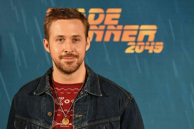 Ryan Gosling á tvær dætur með konu sinni, Evu Mendes.