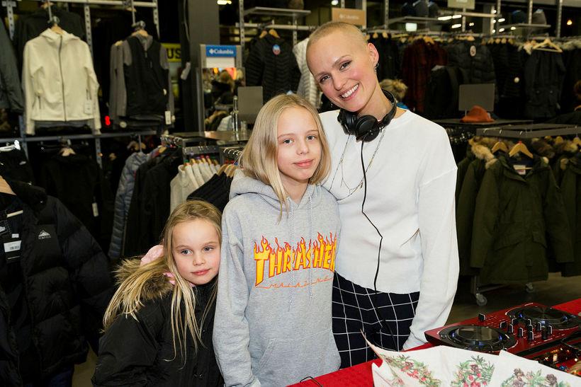 Sunna, Birta og Sóley Kjartansdóttir.
