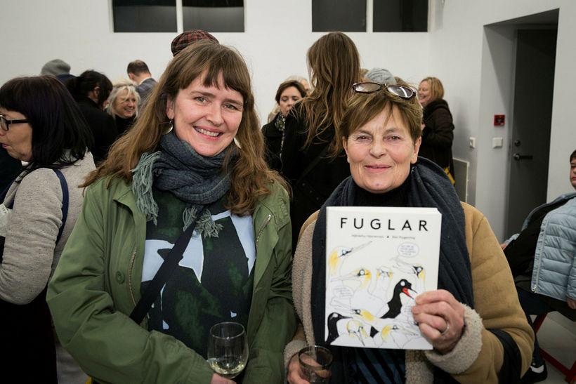 Hafdís Árnadóttir og Jóhanna Björk Guðjónsdóttir.