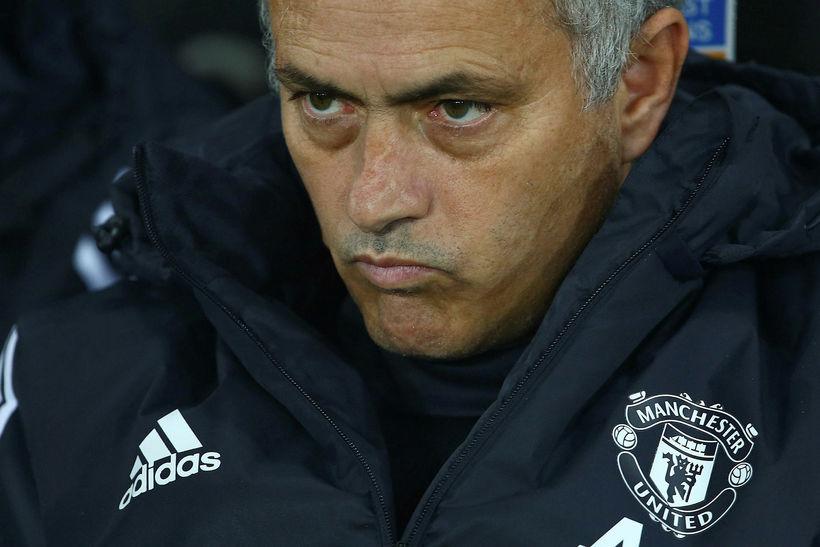 José Mourinho er ekki sáttur.