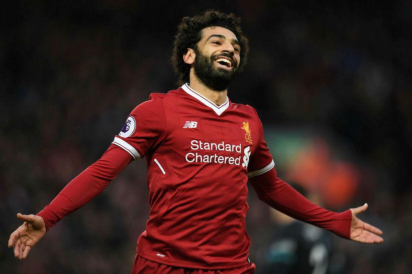 Mohamed Salah er orðinn markahæstur í ensku úrvalsdeildinni.