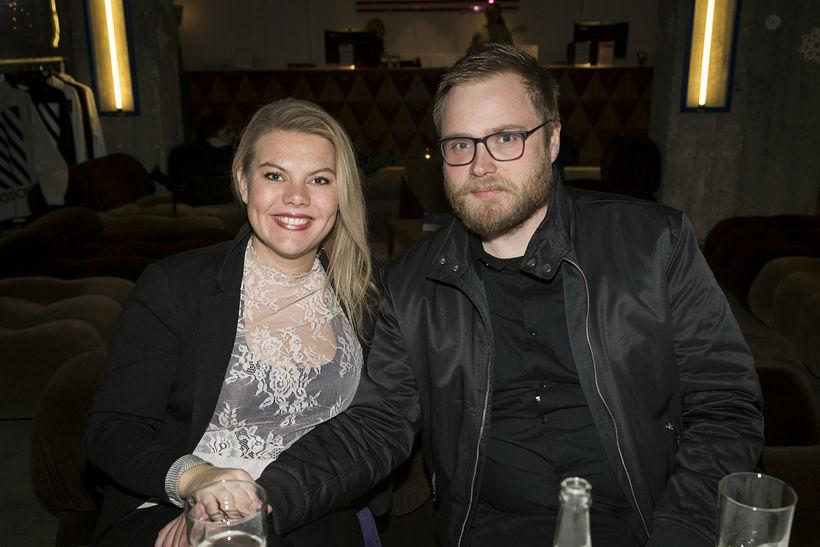 Elva Björk og Gísli Hrafnkelsson.