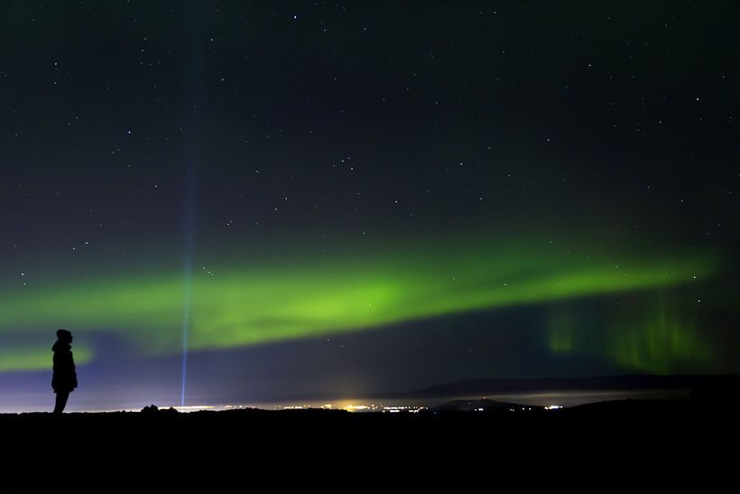 Come on now northern lights, show yourselves! Come out and ...
