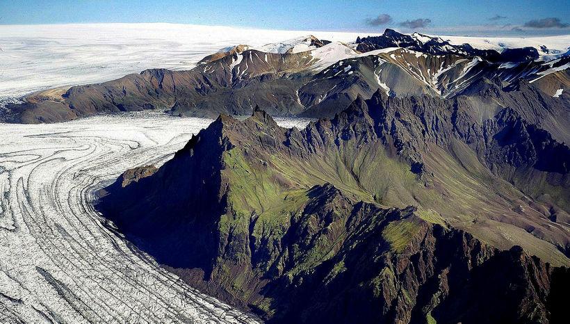 Vatnajökulsþjóðgarður.