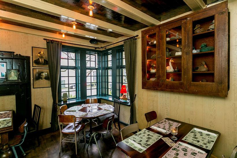 Hverfisgata 12 is located on three floors in a historic ...