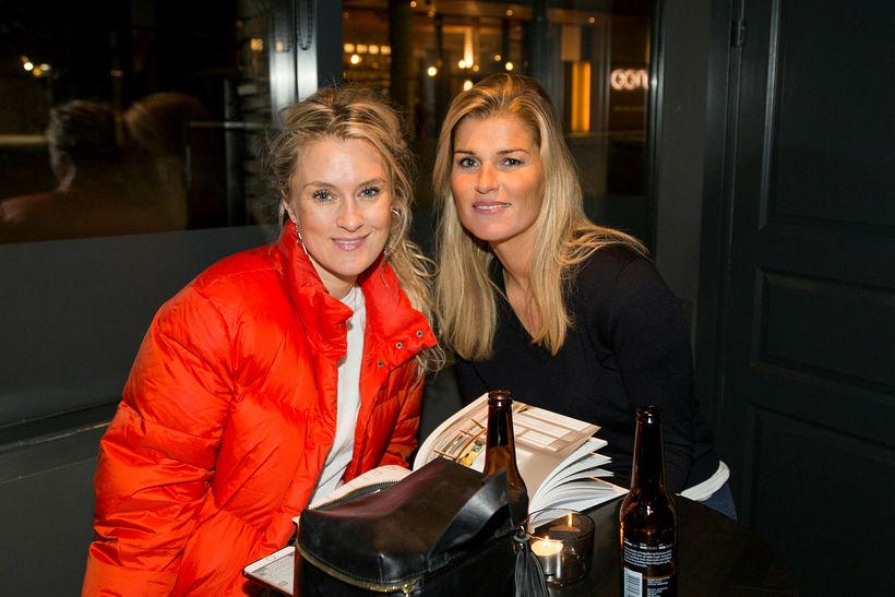 Ása Ninna Pétursdóttir og Bryndís Alexandersdóttir.