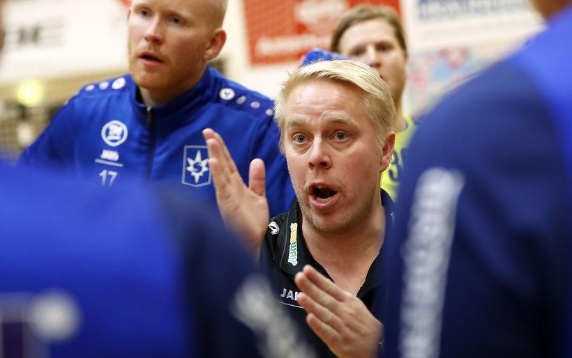 Einar Jónsson er tekinn við þjálfun Gróttu.