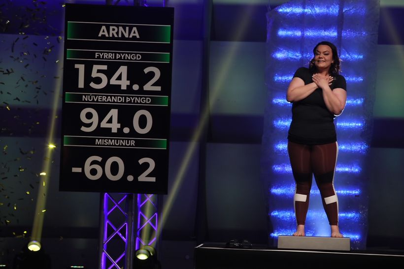 Arna vann Biggest Loser.