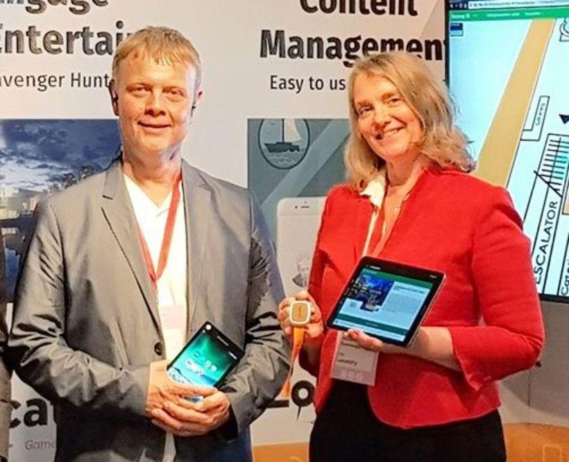 Leifur Björn Björnsson og Steinunn Anna Gunnlaugsdóttir eru stofnefndur Locatify.