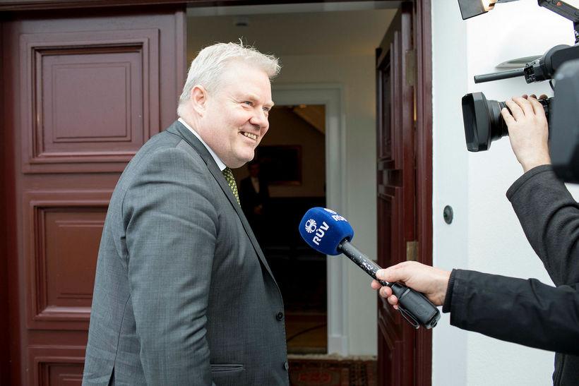 Sigurður Ingi Jóhannson mun flytja áramótaávarp forsætisráðherra samkvæmt dagskrá RÚV.