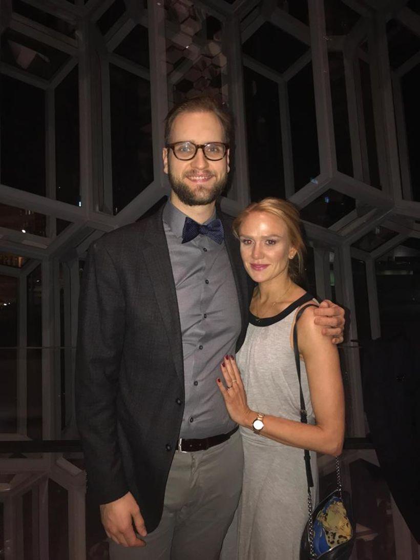 Sindri Aron Viktorsson og Hanna Kristín Skaftadóttir eru glæsileg saman.