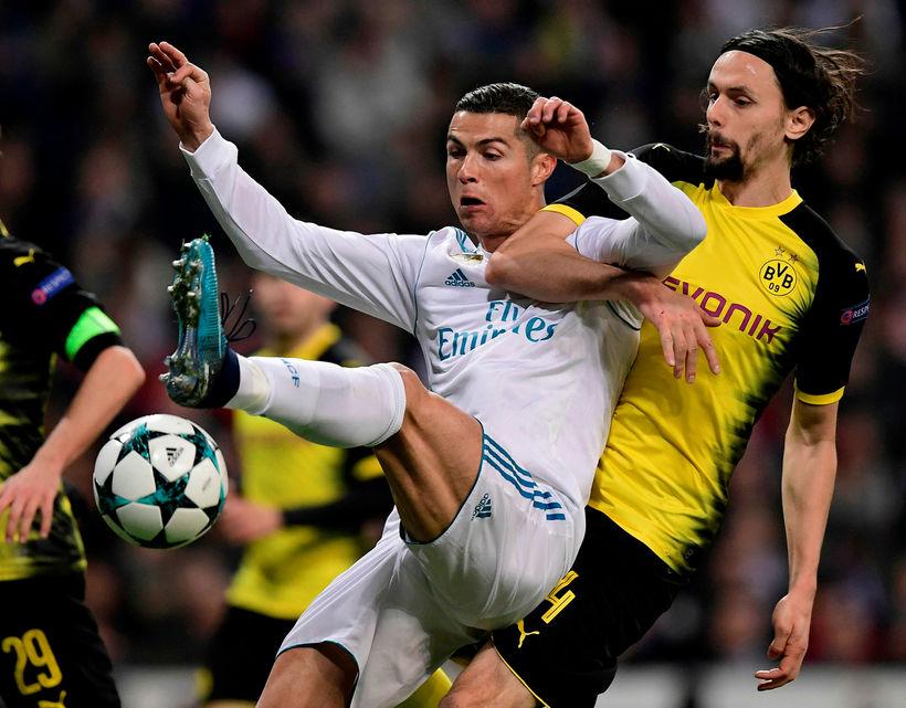 Cristiano Ronaldo og félagar í Real Madrid eru í neðri ...