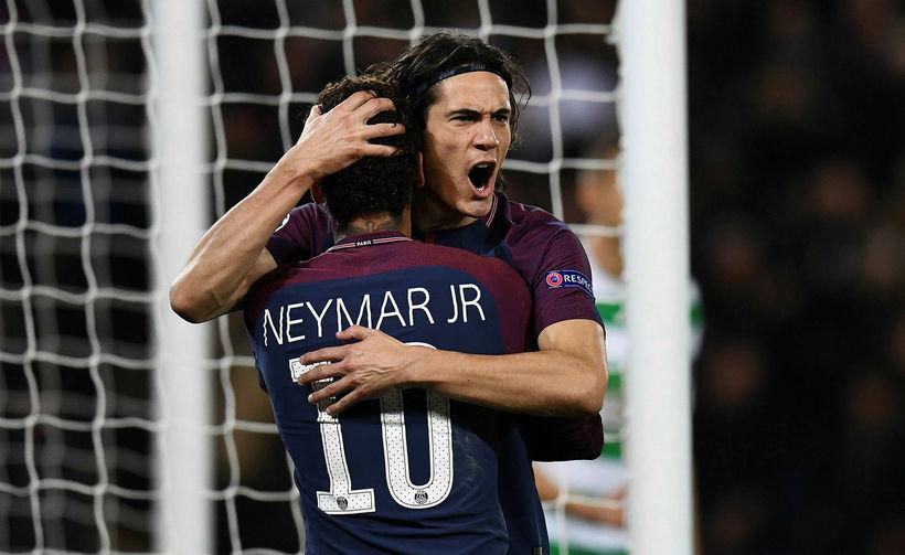 Edinson Cavani og Neymar hafa skorað grimmt fyrir Paris SG ...