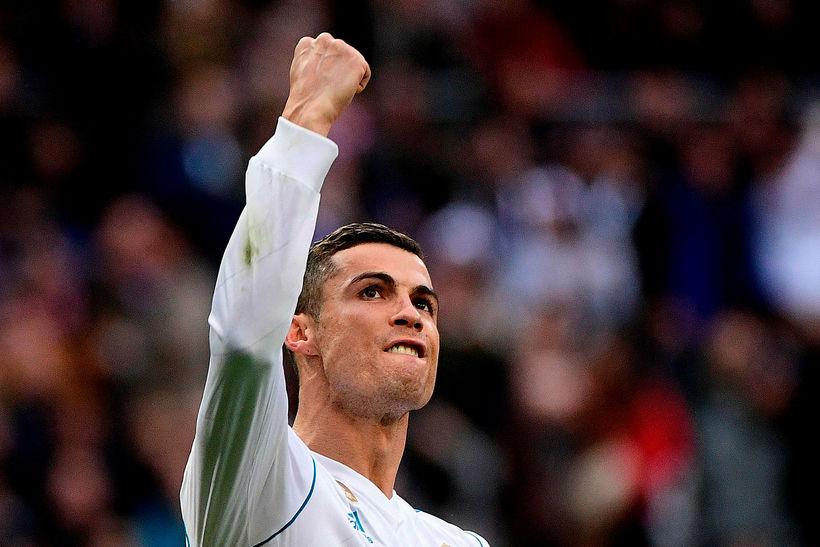 Ronaldo var allur í öllu hjá Real í dag.