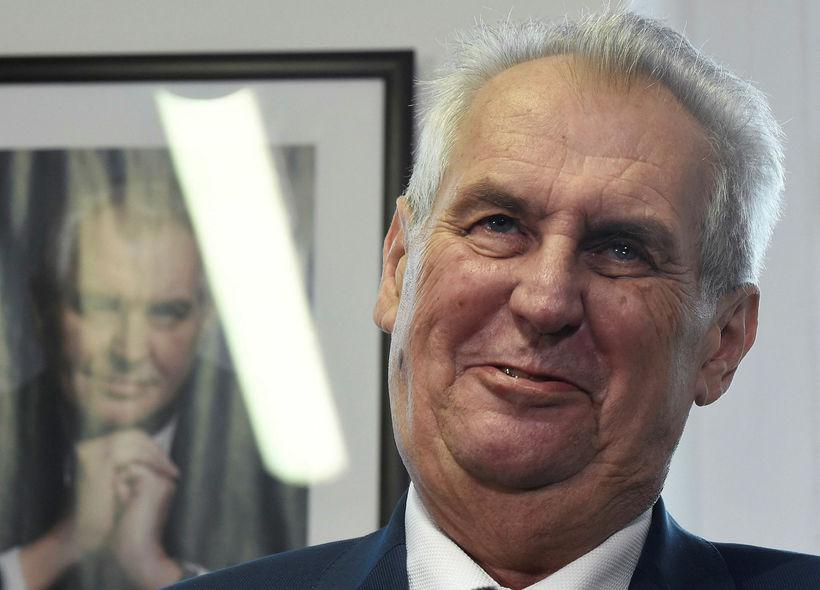 Milos Zeman.