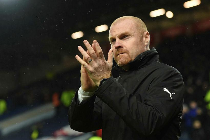 Sean Dyche er vinsæll í Burnley.